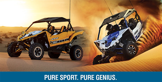The all new Powerful Yamaha Side by Side